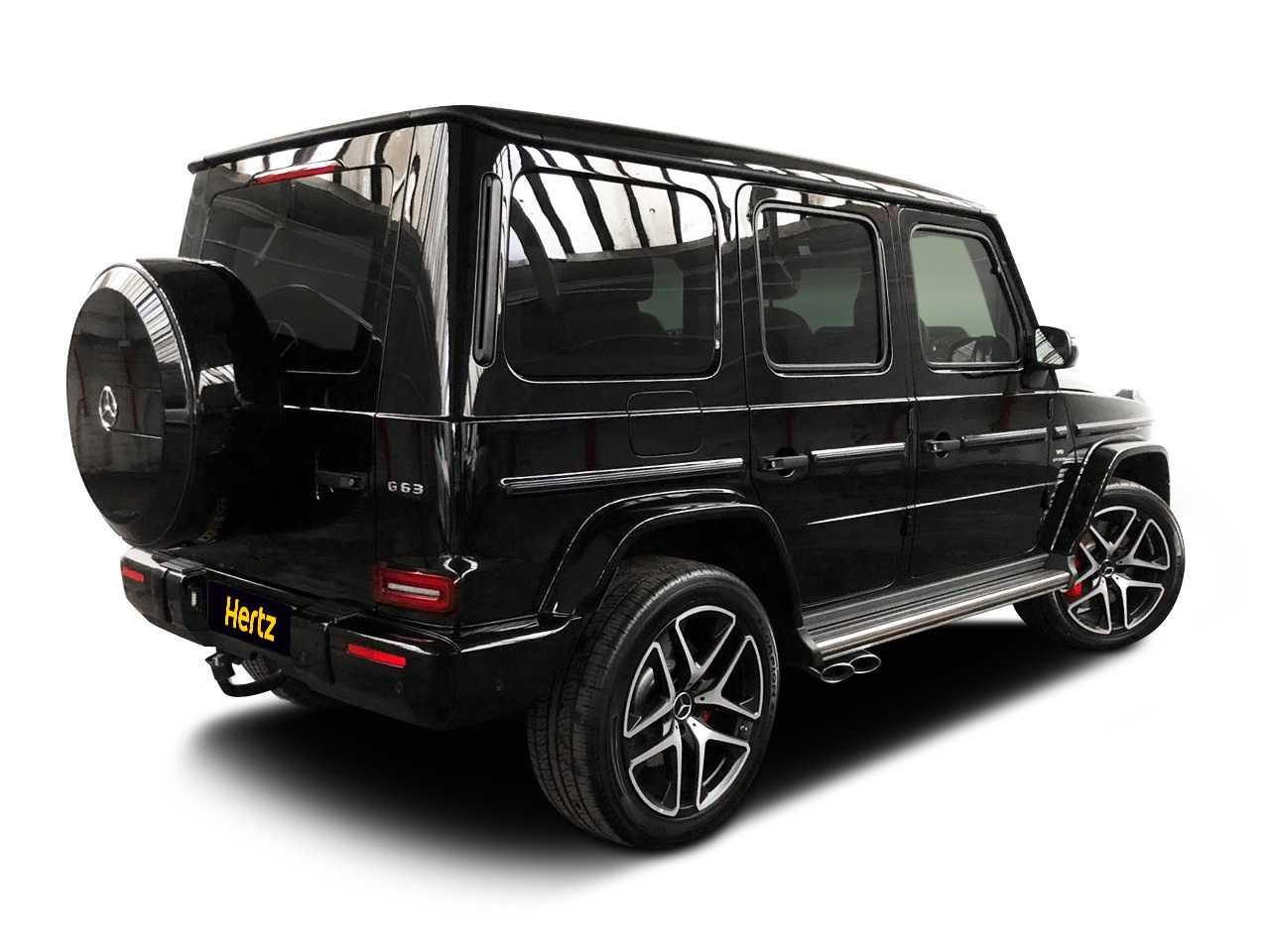 Mercedes G-Wagon 63AMG Car for hire