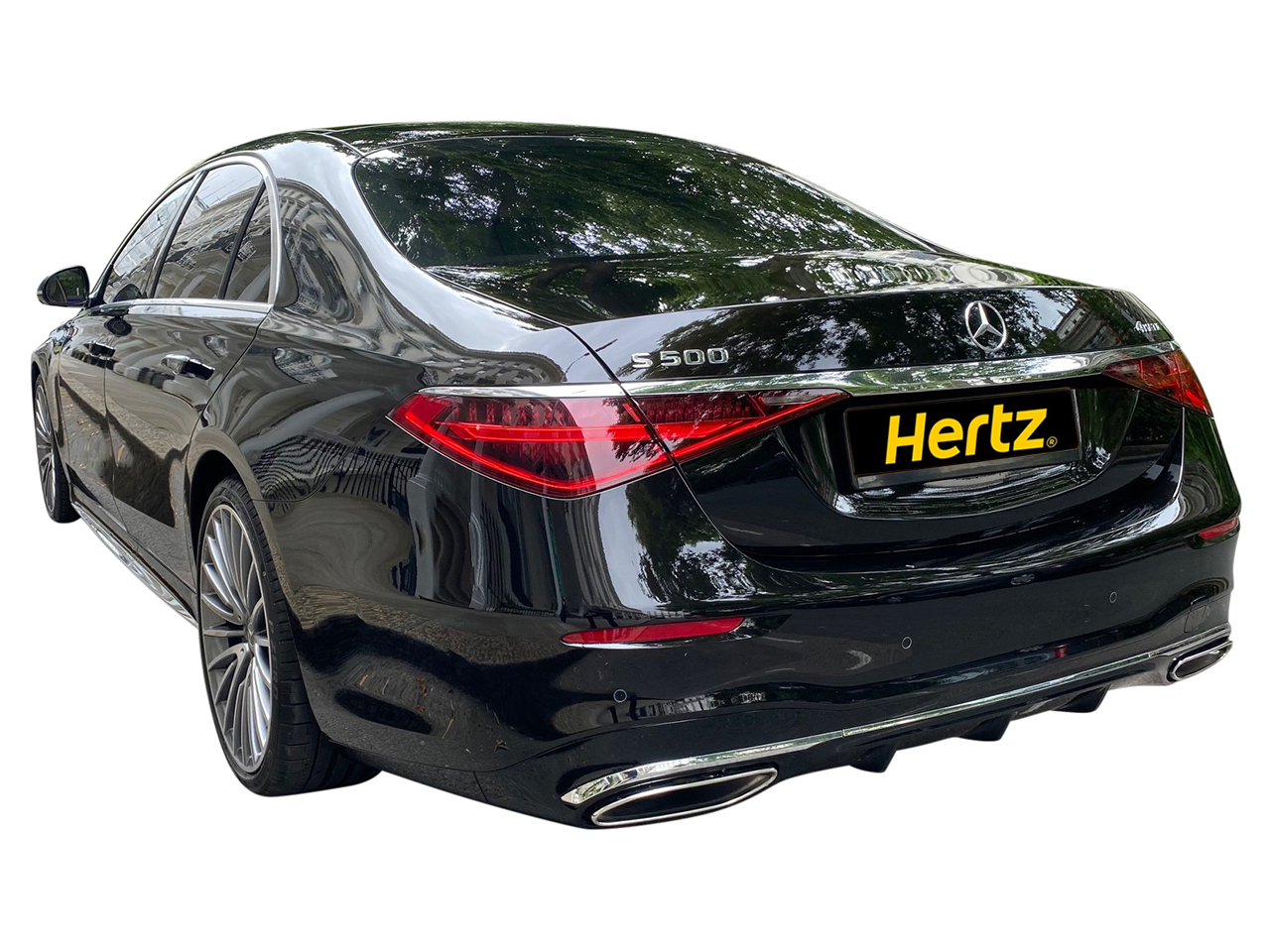 Mercedes S500 4 Matic LWB Car for hire